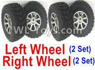 Wltoys 18403 Parts-Whole Left and Right wheel unit-(2 set Left and 2 set Right),Wltoys 18403 RC Crawler Car Spare Parts Replacement Accessories,1:18 18403 4wd rc rock racing car Parts,On Road Drift Racing Truck Car Parts