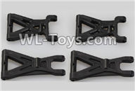 Wltoys 18403 Spare Parts-03 A959-02 Front and Rear Swing arm,Suspension Arm(Total 4pcs),Wltoys 18403 RC Crawler Car Spare Parts Replacement Accessories,1:18 18403 4wd rc rock racing car Parts,On Road Drift Racing Truck Car Parts
