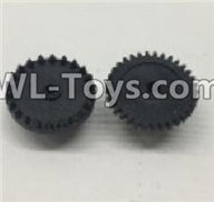 Wltoys 18403 Spare Parts-The first and The second level gear(Total 2pcs),Wltoys 18403 RC Crawler Car Spare Parts Replacement Accessories,1:18 18403 4wd rc rock racing car Parts,On Road Drift Racing Truck Car Parts