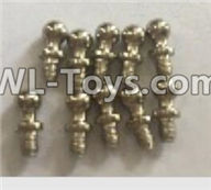 Wltoys 18403 Parts-K929-14 Ball head screws(4X9.4)-10pcs,Wltoys 18403 RC Crawler Car Spare Parts Replacement Accessories,1:18 18403 4wd rc rock racing car Parts,On Road Drift Racing Truck Car Parts