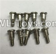 Wltoys 18403 Parts-Round Head self tapping Step screws(M2.5x8.7)-10pcs,Wltoys 18403 RC Crawler Car Spare Parts Replacement Accessories,1:18 18403 4wd rc rock racing car Parts,On Road Drift Racing Truck Car Parts