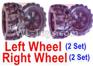 Wltoys 18405 Parts-Whole Left and Right wheel unit-(2 set Left and 2 set Right),Wltoys 18405 RC Crawler Car Spare Parts Replacement Accessories,1:18 18405 4wd RC rock racing car Parts,On Road Drift Racing Truck Car Parts