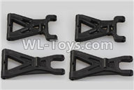Wltoys 18405 Parts-A959-02 Front and Rear Swing arm,Suspension Arm(Total 4pcs),Wltoys 18405 RC Crawler Car Spare Parts Replacement Accessories,1:18 18405 4wd RC rock racing car Parts,On Road Drift Racing Truck Car Parts