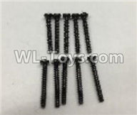 Wltoys 18405 Parts-A949-41 Round Head self tapping screws(M2x16)-10pcs,Wltoys 18405 RC Crawler Car Spare Parts Replacement Accessories,1:18 18405 4wd RC rock racing car Parts,On Road Drift Racing Truck Car Parts
