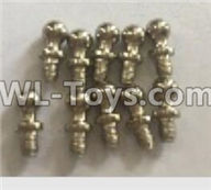 Wltoys 18405 Parts-K929-14 Ball head screws(4X9.4)-10pcs,Wltoys 18405 RC Crawler Car Spare Parts Replacement Accessories,1:18 18405 4wd RC rock racing car Parts,On Road Drift Racing Truck Car Parts