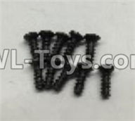 Wltoys 18405 Parts-A949-47 Countersunk self tapping screws(M2x16)-10pcs,Wltoys 18405 RC Crawler Car Spare Parts Replacement Accessories,1:18 18405 4wd RC rock racing car Parts,On Road Drift Racing Truck Car Parts