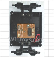 Wltoys 18428-B Parts-Car Bottom unit(Inclde CiRCuit board,Switch,Battery cover,Bottom frame),Wltoys 18428-B RC Car Spare Parts Replacement Accessories,1:18 Scale 4wd,2.4G 18428-B RC racing car Parts,On Road Drift Racing Truck Car Parts