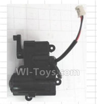 Wltoys 18428-B Parts-Front steering gear box assembly,Wltoys 18428-B RC Car Spare Parts Replacement Accessories,1:18 Scale 4wd,2.4G 18428-B RC racing car Parts,On Road Drift Racing Truck Car Parts