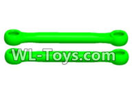 Wltoys 18429 Parts-Steerting Rod(2pcs)-Green,Wltoys 18429 RC Car Spare Parts Replacement Accessories,1:18 Scale 4wd,2.4G 18429 rc racing car Parts,On Road Drift Racing Truck Car Parts