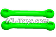 Wltoys 18429 Parts-Swing arm Rod(2pcs)-Green,Wltoys 18429 RC Car Spare Parts Replacement Accessories,1:18 Scale 4wd,2.4G 18429 rc racing car Parts,On Road Drift Racing Truck Car Parts
