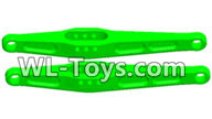 Wltoys 18429 Parts-Rear Swing arm unit(2pcs)-Green,Wltoys 18429 RC Car Spare Parts Replacement Accessories,1:18 Scale 4wd,2.4G 18429 rc racing car Parts,On Road Drift Racing Truck Car Parts