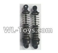 Wltoys 18429 Parts-Front Shock Absorber(2pcs)-Short,Wltoys 18429 RC Car Spare Parts Replacement Accessories,1:18 Scale 4wd,2.4G 18429 rc racing car Parts,On Road Drift Racing Truck Car Parts