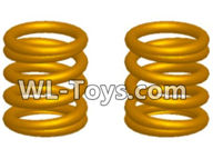 Wltoys 18429 Parts-Pressure spring-1x7x9x4(2pcs),Wltoys 18429 RC Car Spare Parts Replacement Accessories,1:18 Scale 4wd,2.4G 18429 rc racing car Parts,On Road Drift Racing Truck Car Parts