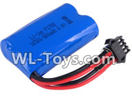 Wltoys 18429 Parts-Lipo Battery Upgrade 6.4v 800mah Battery(1pcs),Wltoys 18429 RC Car Spare Parts Replacement Accessories,1:18 Scale 4wd,2.4G 18429 rc racing car Parts,On Road Drift Racing Truck Car Parts