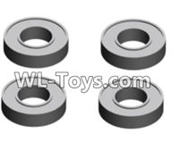 Wltoys 18429 Spare Parts-80-01 A202-23 Ball bearing-4X8X2(4pcs),Wltoys 18429 RC Car Spare Parts Replacement Accessories,1:18 Scale 4wd,2.4G 18429 rc racing car Parts,On Road Drift Racing Truck Car Parts
