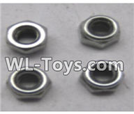 Wltoys 18429 Spare Parts-80-04 A929-95 M3 lock nut group(4pcs),Wltoys 18429 RC Car Spare Parts Replacement Accessories,1:18 Scale 4wd,2.4G 18429 rc racing car Parts,On Road Drift Racing Truck Car Parts