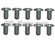Wltoys 18429 Spare Parts-84-21 A303-32 Phillips Round head Self-tapping screws-ST1.7X6PB(8pcs),Wltoys 18429 RC Car Spare Parts Replacement Accessories,1:18 Scale 4wd,2.4G 18429 rc racing car Parts,On Road Drift Racing Truck Car Parts