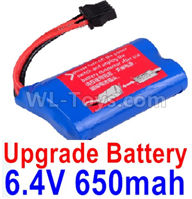 Wltoys 18628 Parts-Upgrade Battery Packs,Upgrade 6.4V 800mAh Battery(1pcs)-life battery pack-18628-0679,Wltoys 18628 Mods,Wltoys 18628 RC Crawler Car Spare Parts Replacement Accessories,1:18 18628 6wd rc rock racing car Parts,On Road Drift Racing Truck Car Parts