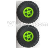 Wltoys 18628 Parts-Whole wheel unit(2 set)-18628-0542,Wltoys 18628 RC Crawler Car Spare Parts Replacement Accessories,1:18 18628 6wd rc rock racing car Parts,On Road Drift Racing Truck Car Parts
