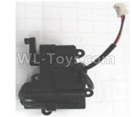 Wltoys 18629 Parts-Front steering gearbox assembly-18629-0663,Wltoys 18629 RC Crawler Car Spare Parts Replacement Accessories,1:18 18629 rc rock racing car Parts,On Road Drift Racing Truck Car Parts