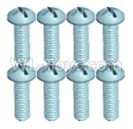 Wltoys 18629 Screws Parts-Pan head screws(8pcs)-ST2.3X10PB-18629-0675,Wltoys 18629 RC Crawler Car Spare Parts Replacement Accessories,1:18 18629 rc rock racing car Parts,On Road Drift Racing Truck Car Parts