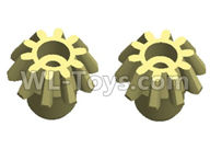 Wltoys 20402 Parts-0617 Drive Gear(2pcs),1/20 Wltoys 20402 RC Car Spare Parts Replacement Accessories