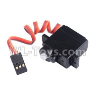 Wltoys 20404 Parts-0652 Servo,1/20 Wltoys 20404 RC Car Spare Parts Replacement Accessories