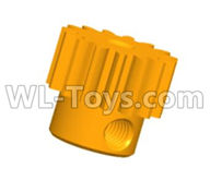 Wltoys 20402 Parts-0618 Motor gear,1/20 Wltoys 20402 RC Car Spare Parts Replacement Accessories