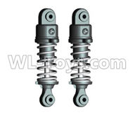 Wltoys 20404 Parts-0616 Shock Absorber(2pcs),1/20 Wltoys 20404 RC Car Spare Parts Replacement Accessories