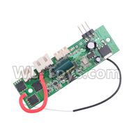 Wltoys 20404 Parts-0655 Circuit board,Receiver board,1/20 Wltoys 20404 RC Car Spare Parts Replacement Accessories