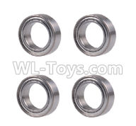 Wltoys 20404 Parts-A202-23 Ball bearing(4pcs)-4X8X2mm,1/20 Wltoys 20404 RC Car Spare Parts Replacement Accessories