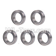 Wltoys 20404 Parts-A929-43 Ball bearing(5pcs)-6x10x3mm,1/20 Wltoys 20404 RC Car Spare Parts Replacement Accessories