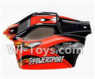 Wltoys A202 Parts-01 A202 Body Shell cover,Car canopy,Car shell cover(Can be used for A202 A212 A222),Wltoys A202 A212 A222 1/24 Mini rc Drift Car Parts desert Off Road Buggy parts