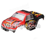 Wltoys A212 02 A212 Body Shell,Car canopy,Car shell cover(Can be used for A202 A212 A222)