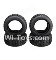 Wltoys A202 Parts-13 A202 Tire leather(4pcs),Wltoys A202 A212 A222 1/24 Mini rc Drift Car Parts desert Off Road Buggy parts