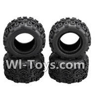 Wltoys A212 Parts-14 A212 Tire leather(4pcs),Wltoys A202 A212 A222 1/24 Mini rc Drift Car Parts desert Off Road Buggy parts