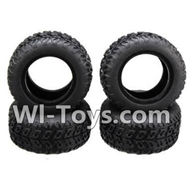 Wltoys A232 Parts-16 A232 Tire leather(4pcs),Wltoys A202 A212 A222 1/24 Mini rc Drift Car Parts desert Off Road Buggy parts