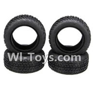 Wltoys A242 Parts-17 A242 Tire leather(4pcs),Wltoys A202 A212 A222 1/24 Mini rc Drift Car Parts desert Off Road Buggy parts