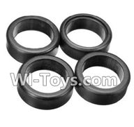 Wltoys A252 Parts-18 A252 Tire leather(4pcs),Wltoys A202 A212 A222 1/24 Mini rc Drift Car Parts desert Off Road Buggy parts