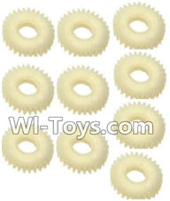 Wltoys A202 A212 A222 Parts-29T Gear(10pcs),Wltoys A202 A212 A222 1/24 Mini rc Drift Car Parts desert Off Road Buggy parts