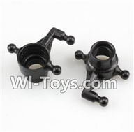 Wltoys A232 A242 A252 Parts-Left steering Cup,Wltoys A232 A242 A252 1/24 rc Drift Car Parts desert Off Road Buggy parts