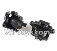 Wltoys A202 A212 A222 Parts-Upper Gear box cover(2pcs),Wltoys A202 A212 A222 1/24 Mini rc Drift Car Parts desert Off Road Buggy parts