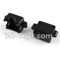 Wltoys A232 A242 A252 Parts-Bottom Gear box cover(2pcs),Wltoys A232 A242 A252 1/24 rc Drift Car Parts desert Off Road Buggy parts