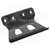 Wltoys A202 Parts-73 A202 Front Anti-Crash Frame,Front Bumper(Can only be used for WLtoys A202),Wltoys A202 A212 A222 1/24 Mini rc Drift Car Parts desert Off Road Buggy parts