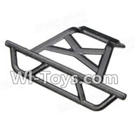 Wltoys A202 A212 A222 Parts-Rear Anti-Crash Frame,Rear BumperRear Bumper,Wltoys A202 A212 A222 1/24 Mini rc Drift Car Parts desert Off Road Buggy parts