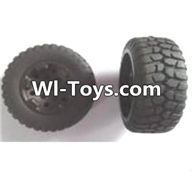 Wltoys A313 Parts-Rear wheel unit(2pcs),1/12 Wltoys A313 RC Car Spare Parts Replacement Accessories