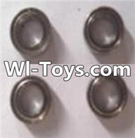 Wltoys A313 Parts-Ball bearing( 4X7X2.5mm)-4pcs,1/12 Wltoys A313 RC Car Spare Parts Replacement Accessories
