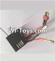 Wltoys A313 Parts-Three-in-one Circuit board,Receiver board,1/12 Wltoys A313 RC Car Spare Parts Replacement Accessories