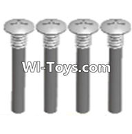 Wltoys A313 Parts-Half tooth cross head screws(M2.5X15)-4pcs,1/12 Wltoys A313 RC Car Spare Parts Replacement Accessories