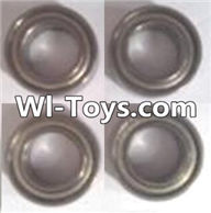 Wltoys A313 Parts-bearings,Ball bearings(4pcs)-8X14X4mm,1/12 Wltoys A313 RC Car Spare Parts Replacement Accessories